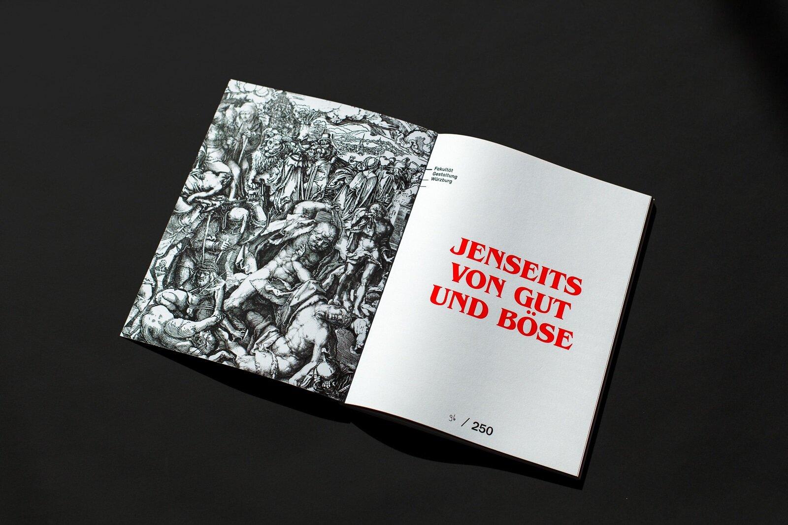 Luv & Lee Magazin 2018 der Fakultät Gestaltung an der FHWS
